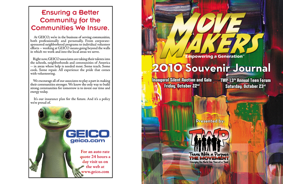 2010 Move Makers Souvenir Journal (cover)