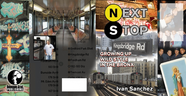 Next Stop cover full spread w/o copy