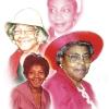 Mrs James Annis Land Memorial Portrait