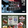 TGIFriday's 4x6 flyer for ESPN's Monday Night Football
