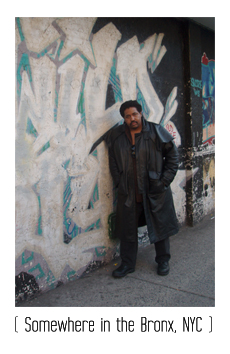 Max Nomad in the Bronx