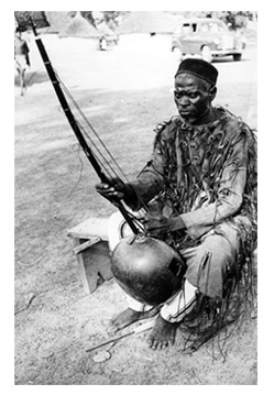 Photo of a Griot -- Photographer unknown