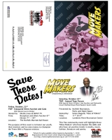 Al Roker Fundraiser and Forum Reminder Postcard