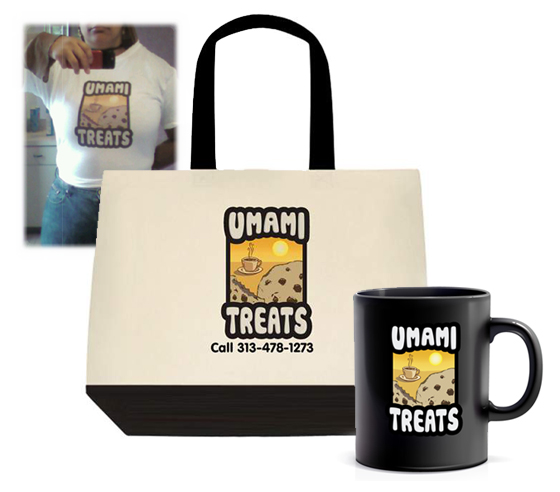 Umami Treats Promotional Materials